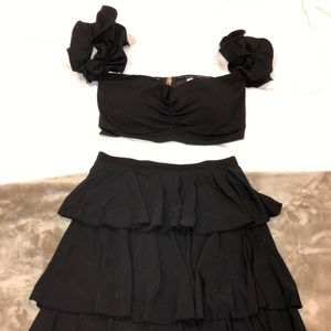 """Cute black set from brand """"chicways"""""""